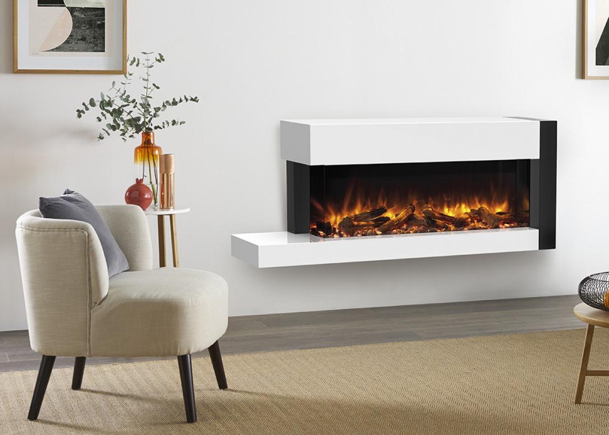 70W Trento Centred Suite - White